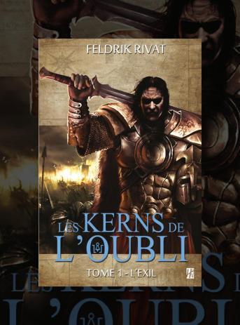 couverture du Tome 1 des Kerns de l'Oubli aux éditions de l'Homme Sans Nom