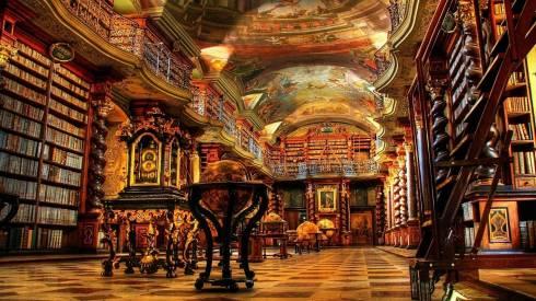 Bibliothèque nationale tchèque à Prague