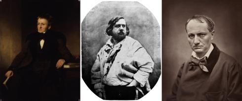 Quincey, Gautier et Baudelaire, trois visions différentes quant à l'influence de la drogue sur la création littéraire.