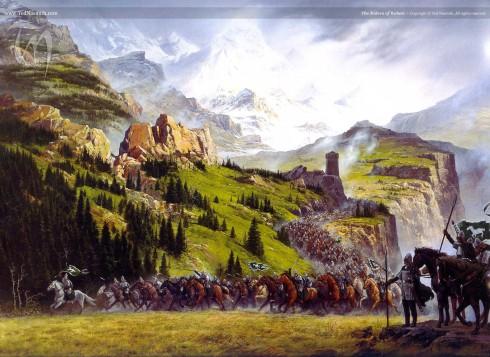 Le Rohan est la seule contrée qui n'a pas d'origine mythologique